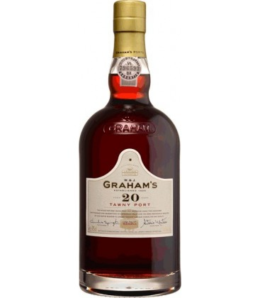GRAHAM`S 20 YEARS OLD PORT TAWNY