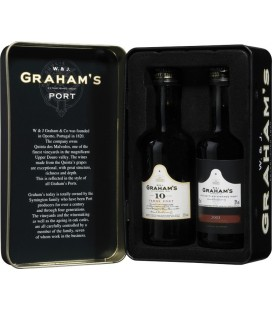 GRAHAM`S MINI PACK CAN WITH LBV AND 10 YEARS MIN (2 B 5CL)